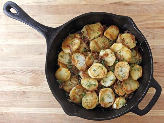 Schmaltz Idaho® Potatoes Lyonnaise