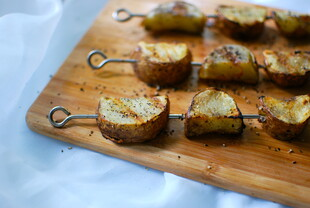 Crispy Grilled Idaho® Potatoes