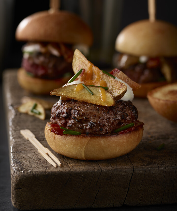 The Meat and Idaho® Potatoes Easy Slider