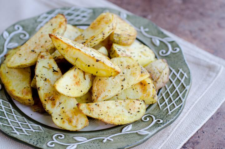 Herb-Roasted Fries
