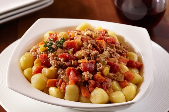 Idaho® Potato Gnocchi With Lamb Ragout