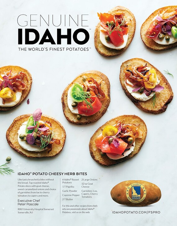 Idaho® Potato Cheesy Herb Bites
