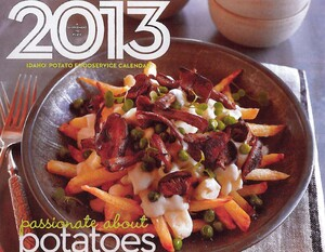 Idaho Potato Commission Chef's Calendar Wins Gold at 2013 Custom Content Council Awards