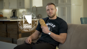 Who Dat? It's Pro Football Player and Idaho Native, Taysom Hill Reppin' Idaho® Potatoes