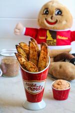Grilled Cajun Potato Wedges