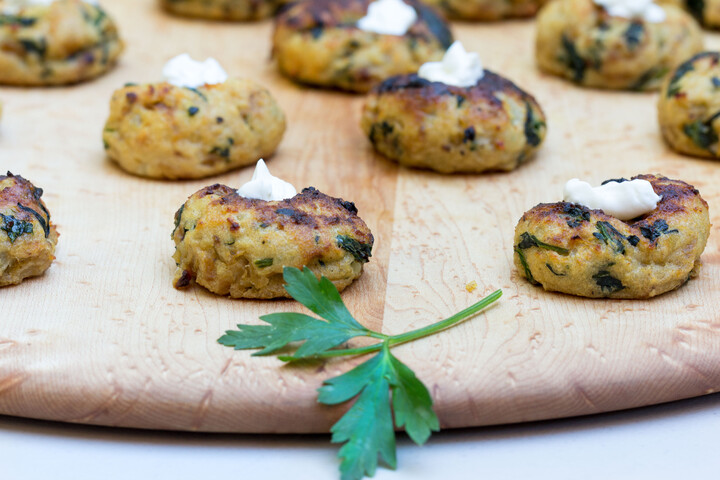 Mini Spinach Idaho® Potato Knishes