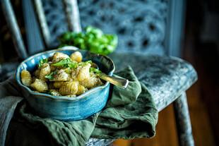 Idaho® Potato Gnocchi in Horseradish Cream and Bolognese