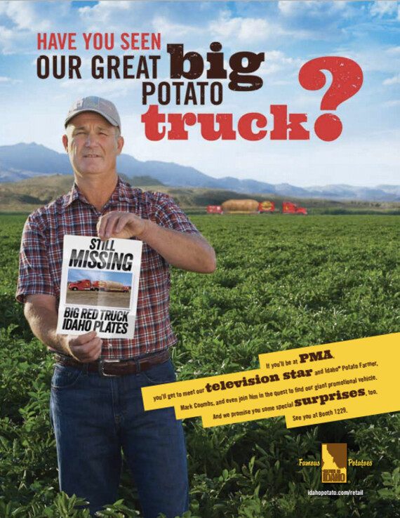 Have You Seen Our Great Big Potato Truck?