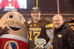 WYOMING COWBOYS DEFEAT THE CENTRAL MICHIGAN CHIPPEWAS IN THE HIGHLY ANTICIPATED 21st ANNUAL FAMOUS IDAHO® POTATO BOWL