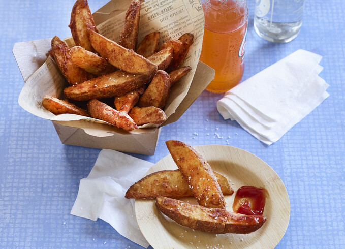 Spicy Buttermilk French Fries