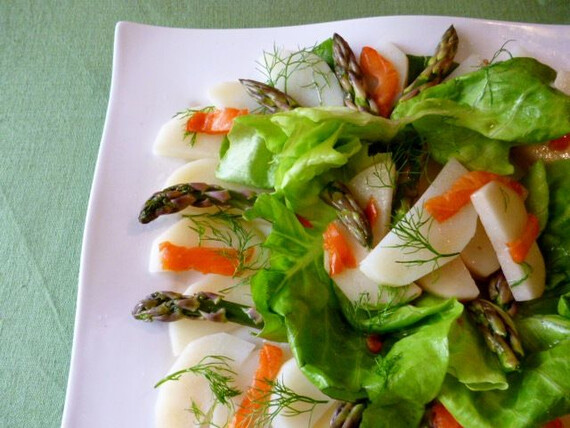 Idaho® Potato and Smoked Salmon Salad