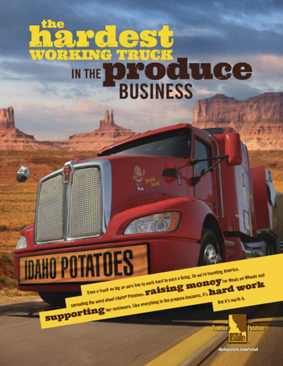 The Hardest Working Truck In The Produce Business