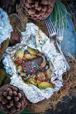 Garlic Steak Foil Packs for Camping
