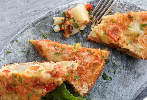 Idaho® Potato and Chorizo Tortilla Espanola