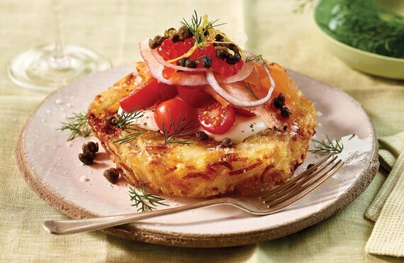 Pommes Rösti with Lox