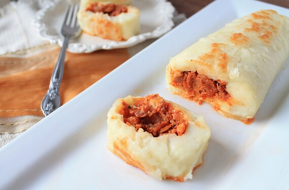 Idaho® Potato And Spanish Chorizo Rolls