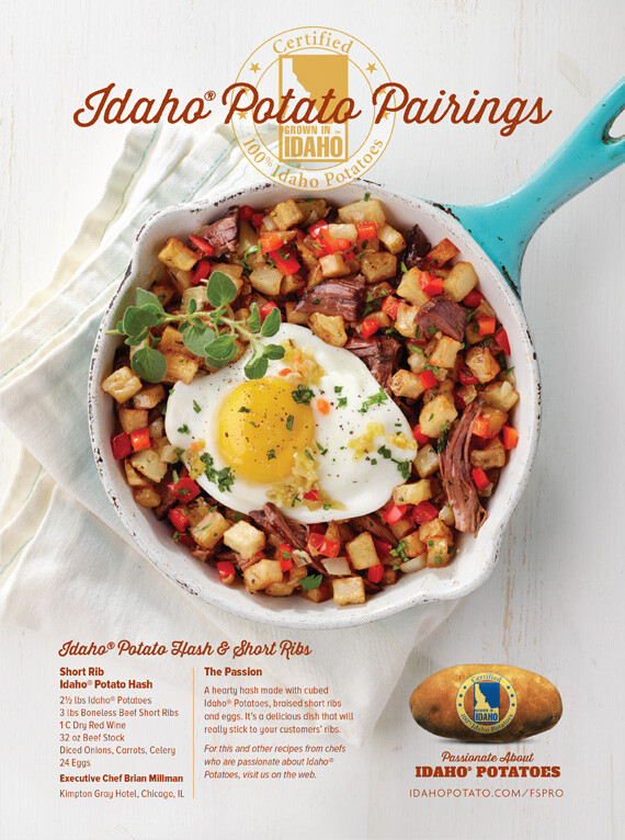 Idaho® Potato Hash & Short Ribs