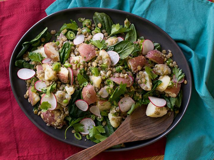 Idaho® Potato and Lentil Salad