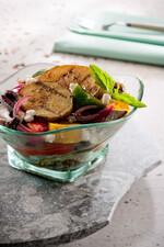 Mediterranean Herbed Potato Salad with Grilled Vegetables