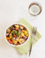 Rainbow Panzanella Salad with Idaho® Potatoes