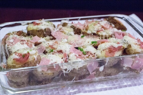 Croque Monsieur Loaded Idaho® Potatoes