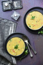 Smoky Idaho® Fingerling Potato and Cheddar Chowder