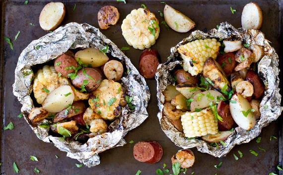 Classic Idaho® Potato Low Country Boil Grill Packets