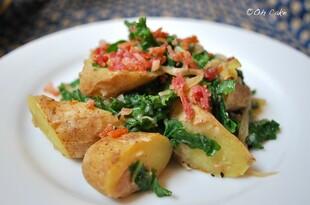 Warm Cannellini Potato Salad