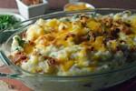 Bacon Cheddar Mashed Potatoes