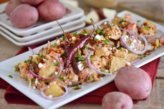 Spicy Red Chipotle and Idaho® Potato Salad
