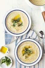 White-on-White Potato-Cauliflower Soup