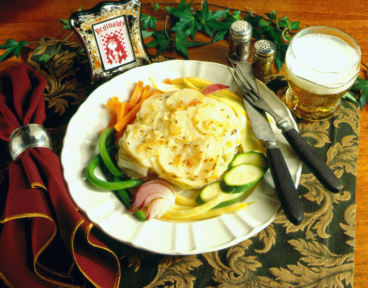 Idaho® Potato-Cabbage Casserole