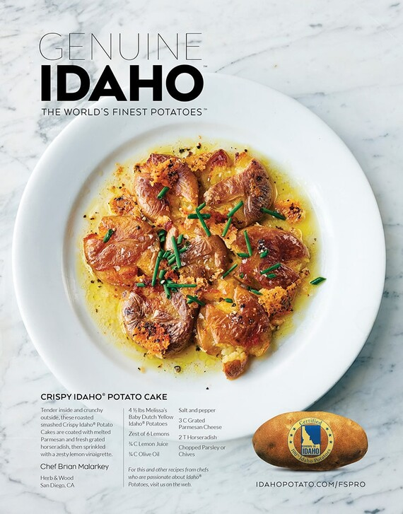 Crispy Idaho® Potato Cake