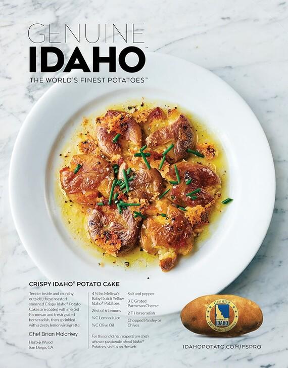 Crispy Idaho® Potato Cake