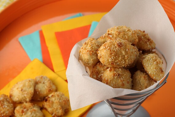 Crispy Sesame-Idaho® Potato Puffs