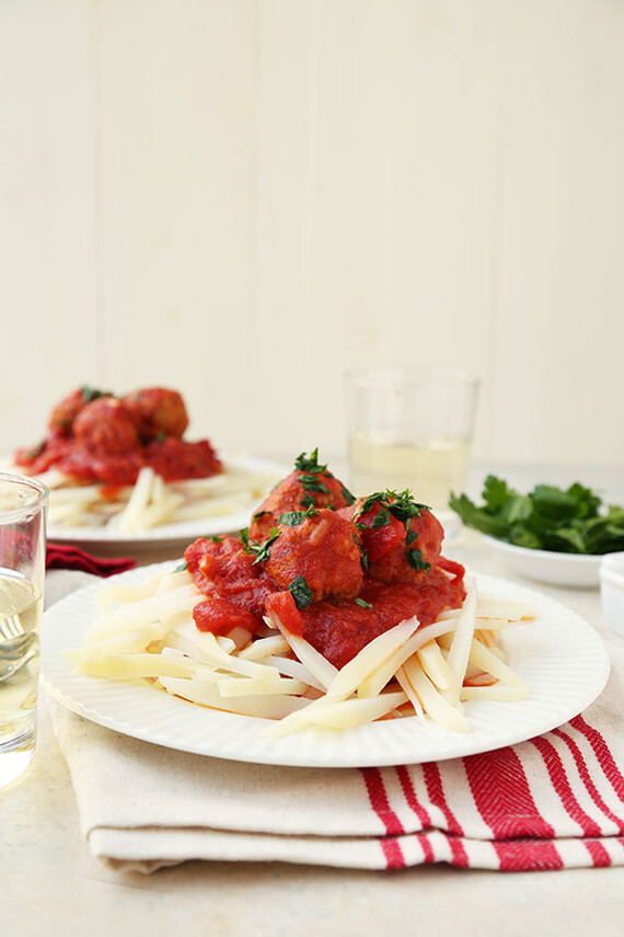"Sunday Gravy with Idaho® Potato ""Pasta"""