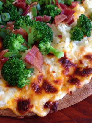 Idaho® Baked Potato Pizza
