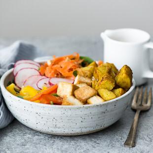 Yellow Curry Idaho® Potato Bowl with Tofu