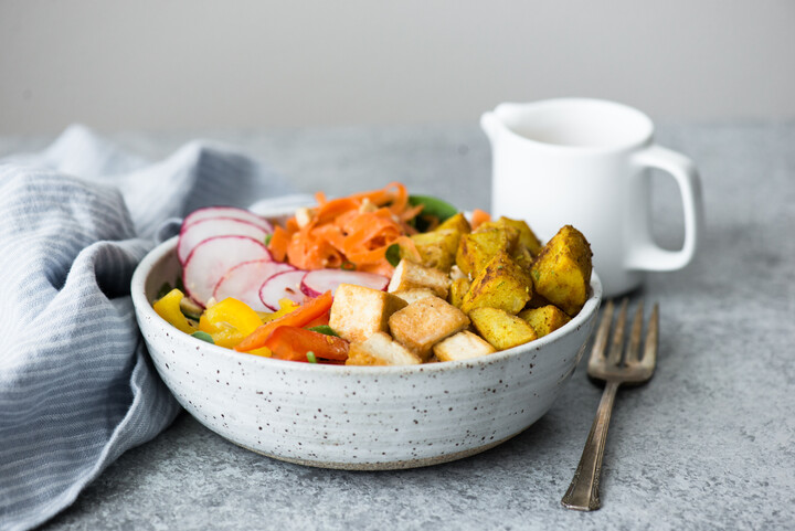 Yellow Curry Idaho® Potato Bowl with Tofu