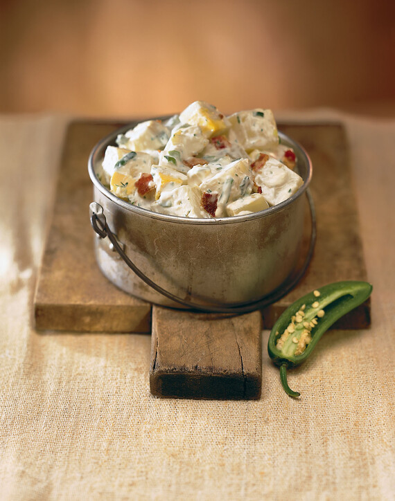 Idaho® Potato Salad with Jalapeño Peppers
