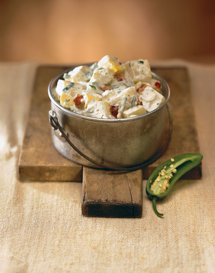 Idaho® Potato Salad with Jalapeño Peppers