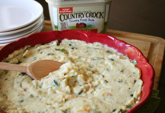 Creamy Mashed Idaho® Potatoes with Roasted Poblano Peppers
