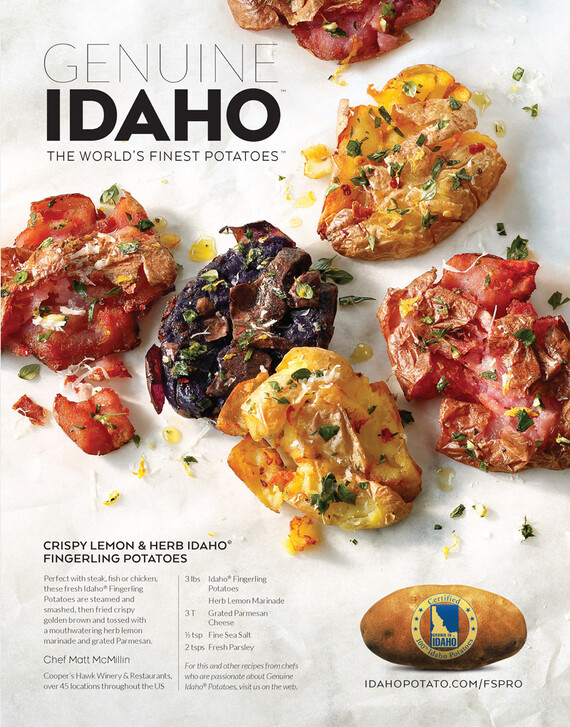 Crispy Lemon & Herb Idaho® Fingerling Potatoes