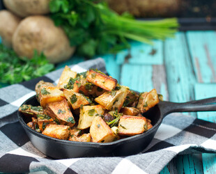 Chimichurri Roasted Idaho® Potatoes