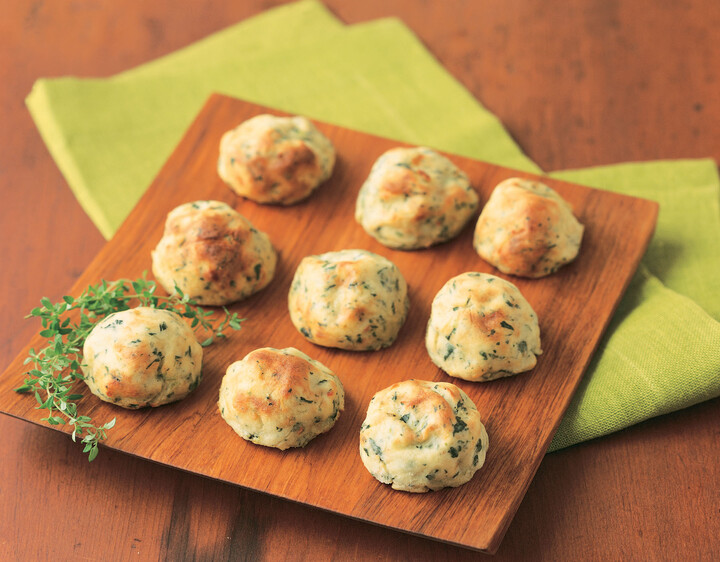 Idaho® Potato Spinach Balls