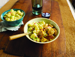 Leah Chase's Andouille Sausage And Chicken Gumbo With Todd Down's Country Club Idaho® Potato Salad