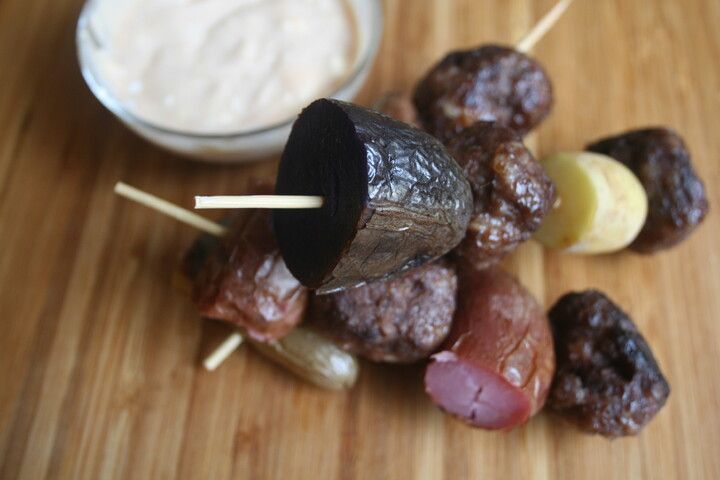 Classic Idaho® Potato Fingerling Kebabs