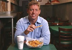 Troy Aikman and Idaho Potato French Fries Star in Wingstop TV Commercial