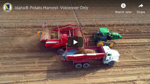 NEW IDAHO POTATO COMMISSION VIDEO FOLLOWS  FAMOUS IDAHO® POTATOES FROM SEED TO HARVEST