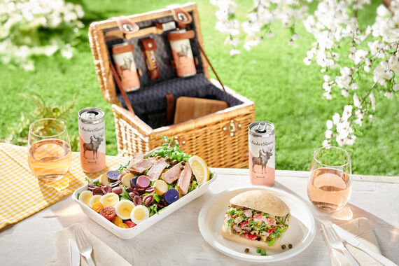 Grilled Tuna Nicoise Salad or Sandwich